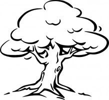 Clipart Trees Black And White Free Clip Art Library