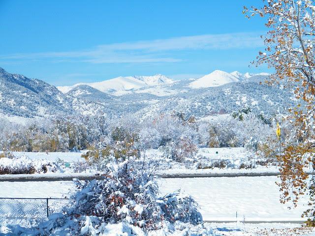 Season's first snow