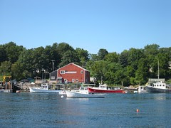 Kittery, ME from the tugboat