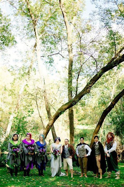 Arkenstone of weddings: a barefoot Hobbit themed wedding