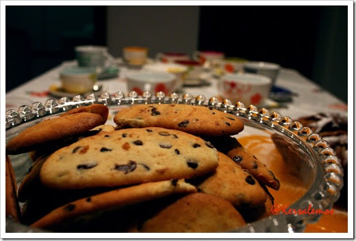 cookies con gocce