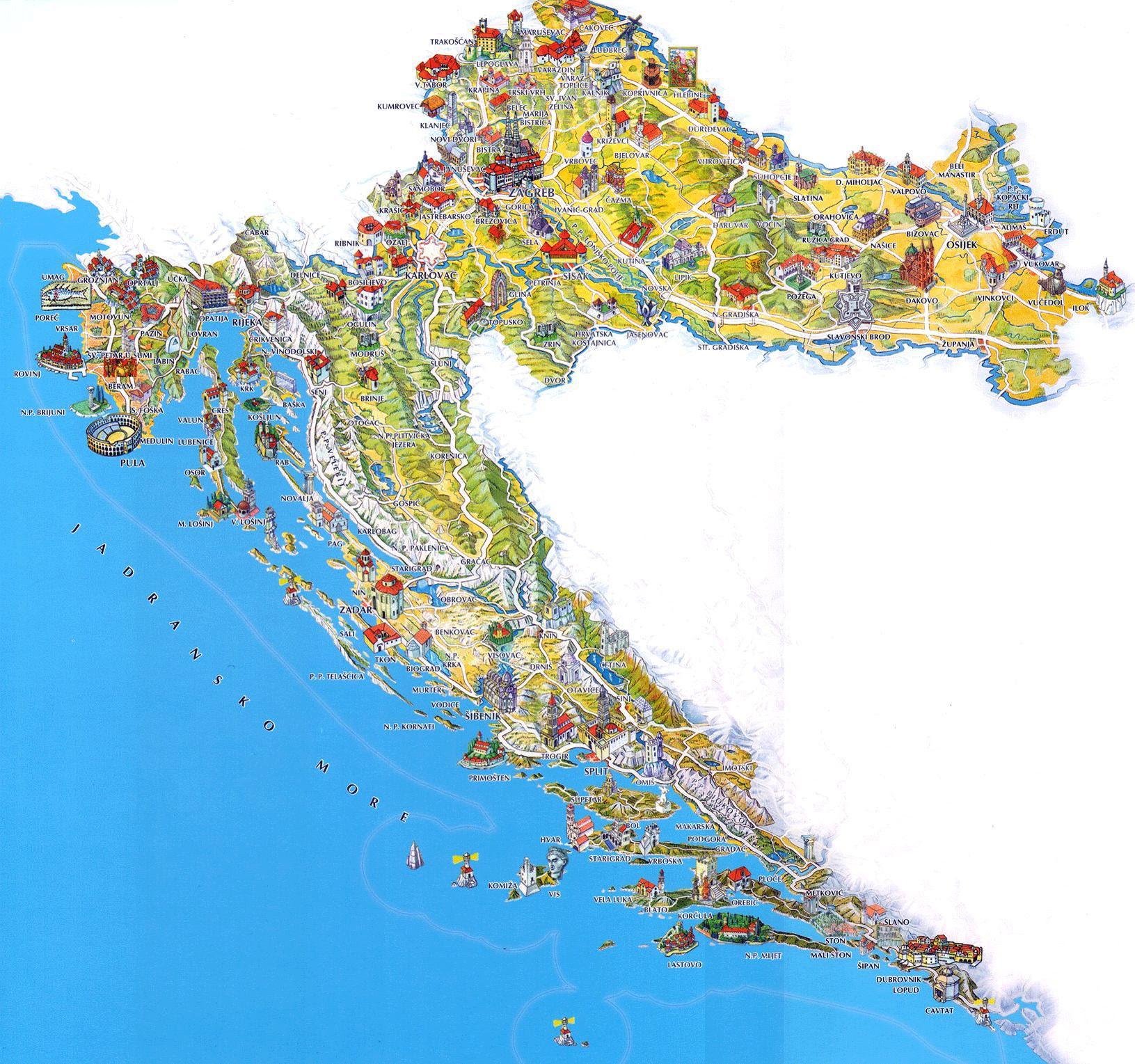 Tourist Map Greece CYNDIIMENNA