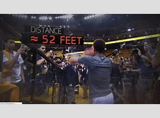 Sport Science: Stephen Curry's Tunnel Shots