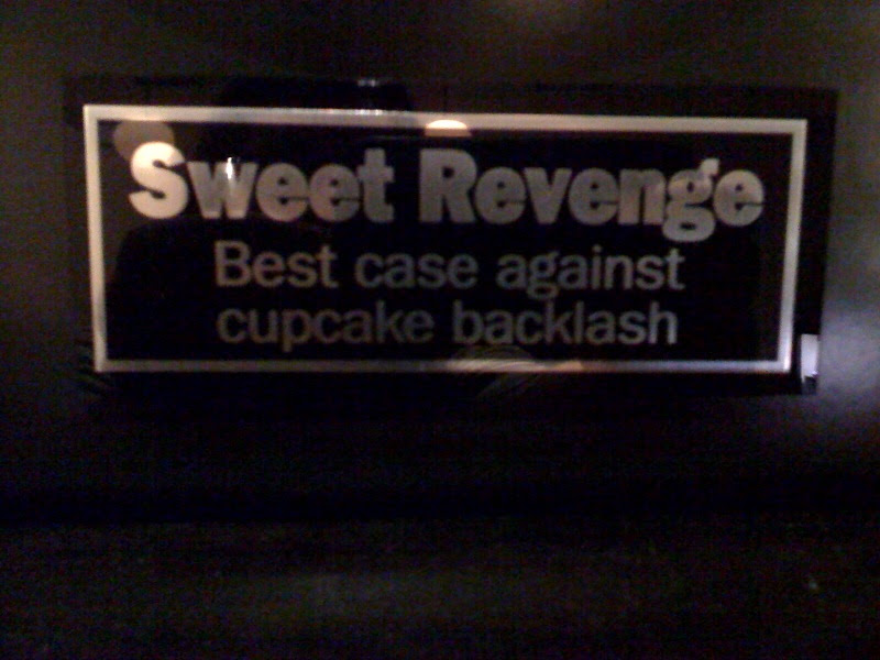 Sweet Revenge Eat Out Award