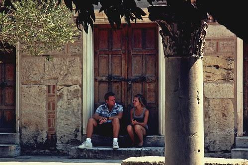 doorsteps by Eva Psarrou
