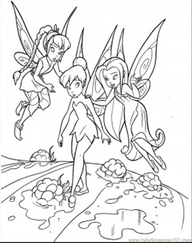 Tinkerbell Coloring Pages Pdf - Coloring And Drawing