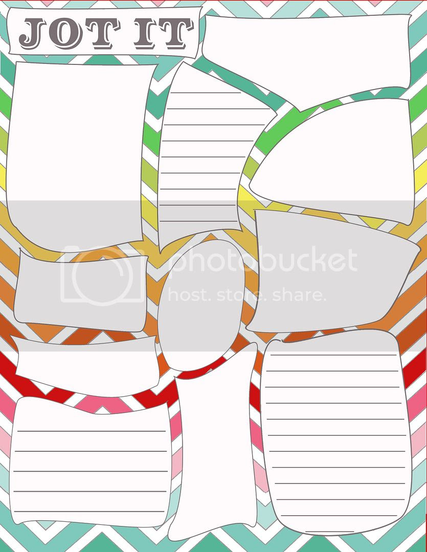 DIY Home Sweet Home: Home Management Binder - Random Notes