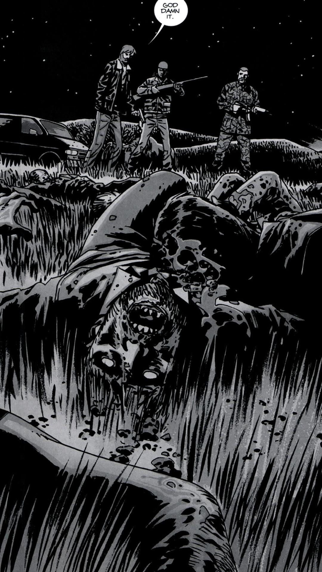 Walking Dead Comic Wallpaper 67 Images