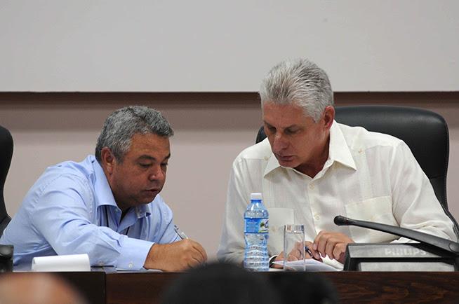 Díaz-Canel en Conferencia del Sindicato de trabajadores de la cultura