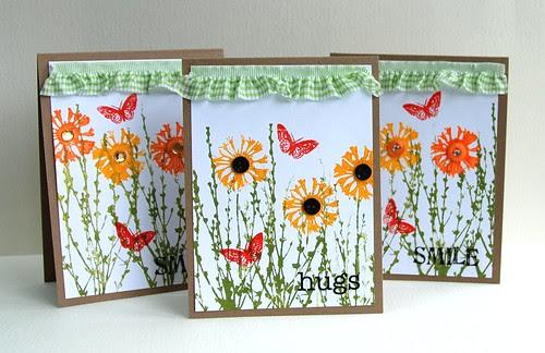flower cards (paint)