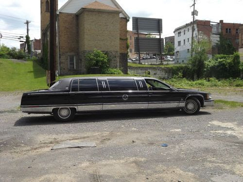 Buy used 1996 Cadillac Fleetwood Brougham Limousine in ...