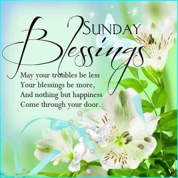 Sunday Blessings Flowers Pictures Photos And Images For Facebook