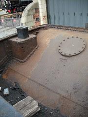 Inside Garratt Bunker