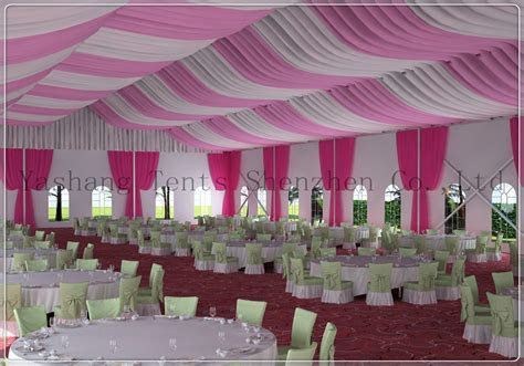 Yashang Tents Blog » Roof Lining Decorations for a Wedding