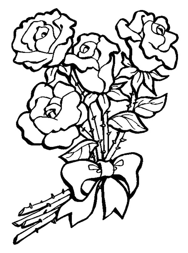 Free Flower Bouquet Clipart Black And White Download Free Clip Art Free Clip Art On Clipart Library