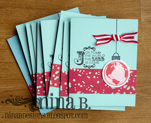 Mass produced cards