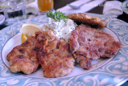 Pork Wiener Schnitzel, with potato Salad RM38