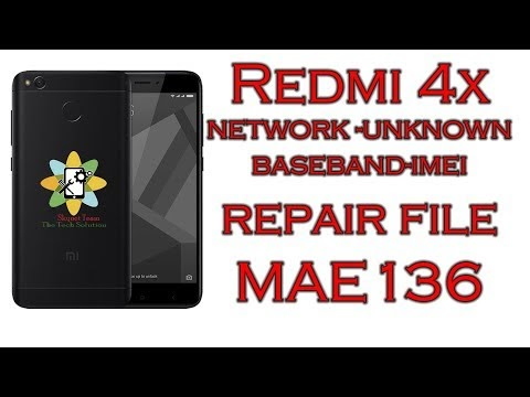 All Mobile Flash File CM2 READ: Redmi 4x Network Unknown