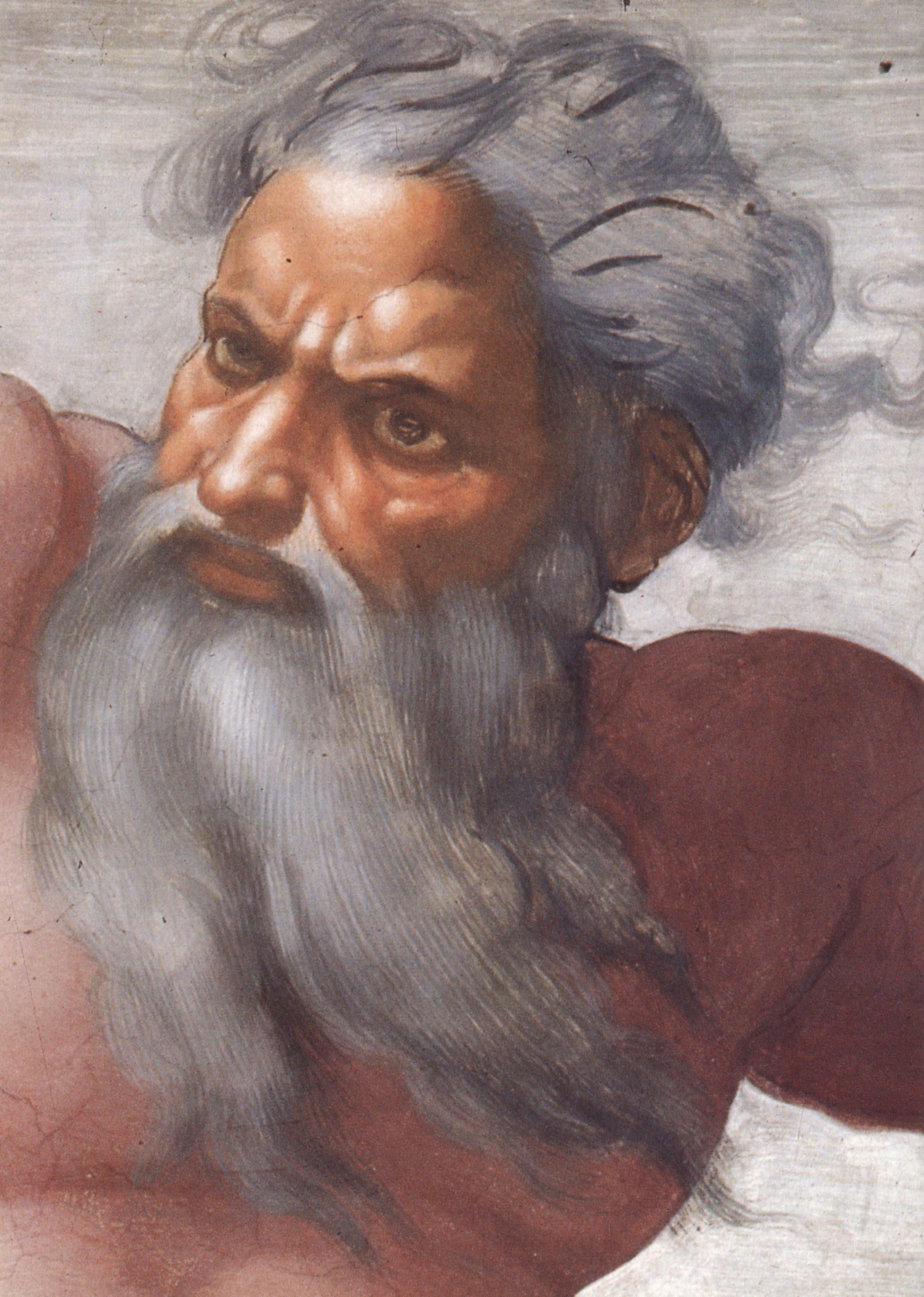 deus de Michelangelo