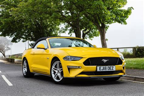 ford mustang convertible review  parkers