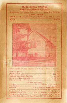 First Lutheran Church of Northridge