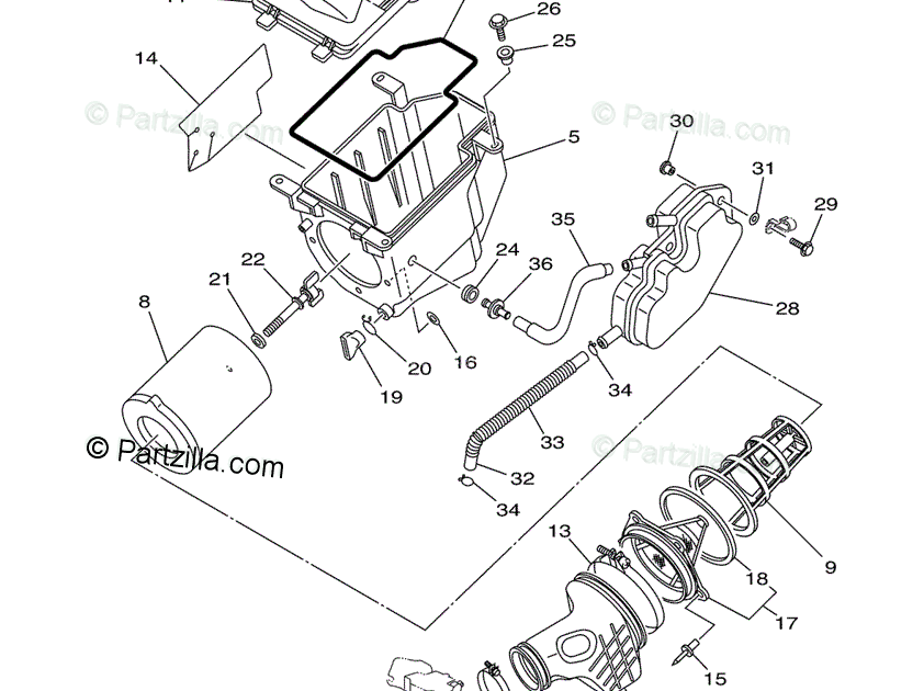 30 Yfz 450 Parts Diagram - Wiring Diagram List