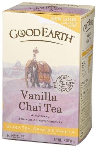 Good earth spice tea