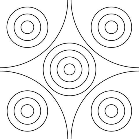 kleurplaten kleurplaat cirkel