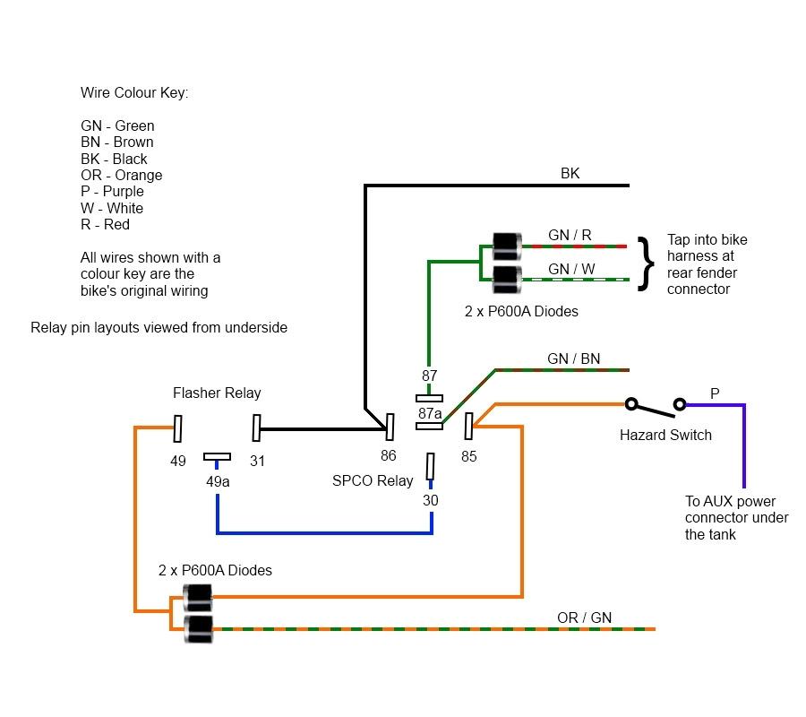 Wiring Diagram For Motorcycle Hazard Lights Champion Trailer Plug Wiring Diagram Bathroom Vents Yenpancane Jeanjaures37 Fr