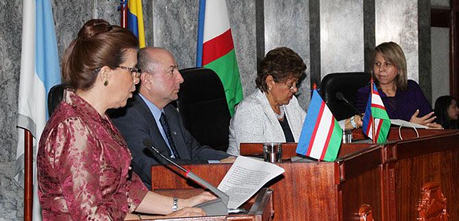 Alcaldesa (e) instala sesiones extraordinarias en el Concejo
