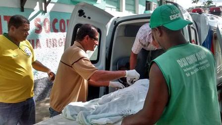 A menina sofreu as duas paradas cardíacas no trajeto até Itabuna e morreu após a segunda