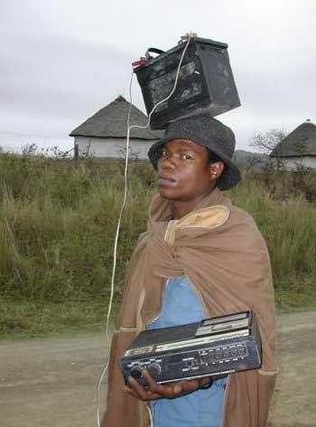 iPod africano