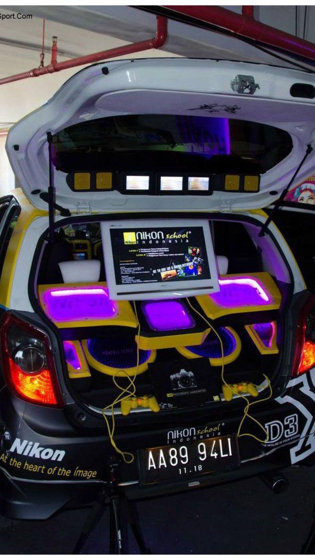 Kumpulan Modifikasi Audio Mobil Agya Terbaru Rekanotomotif