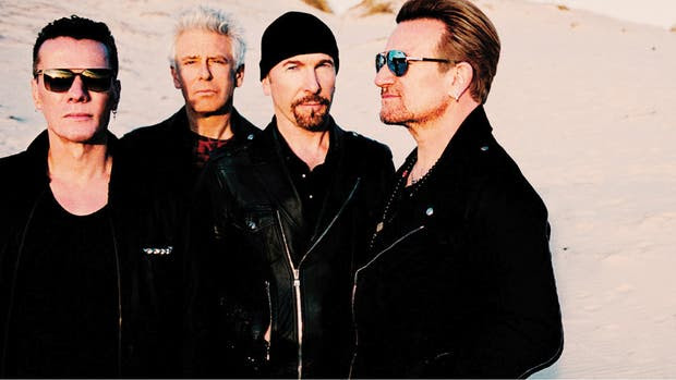 U2 viene en octubre a la Argentina