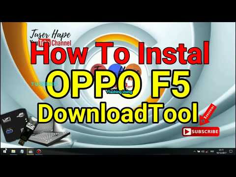 OPPO F5 DownloadTool Tested 100%