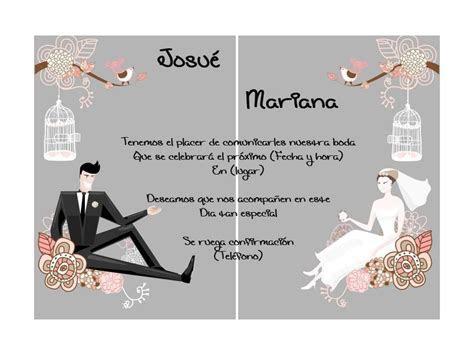 Invitaciones De Casamiento Digitales Para Mandar Por
