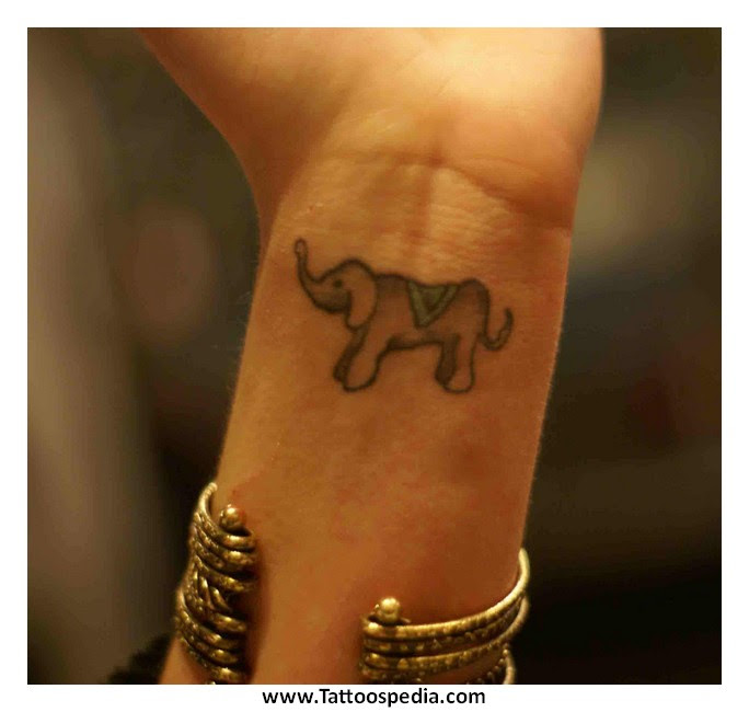 Elephant Tattoo Designs For Women 8
