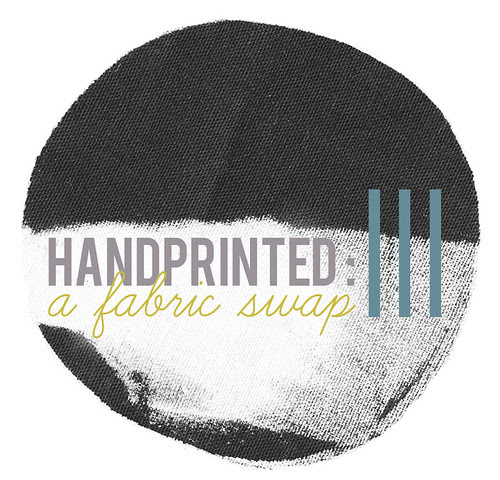 Handprinted: a fabric swap III