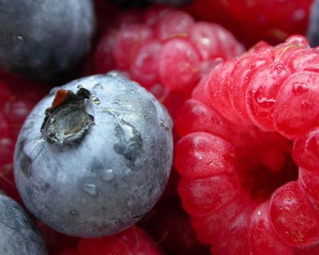 Feb 18 - Blueberry raspberry