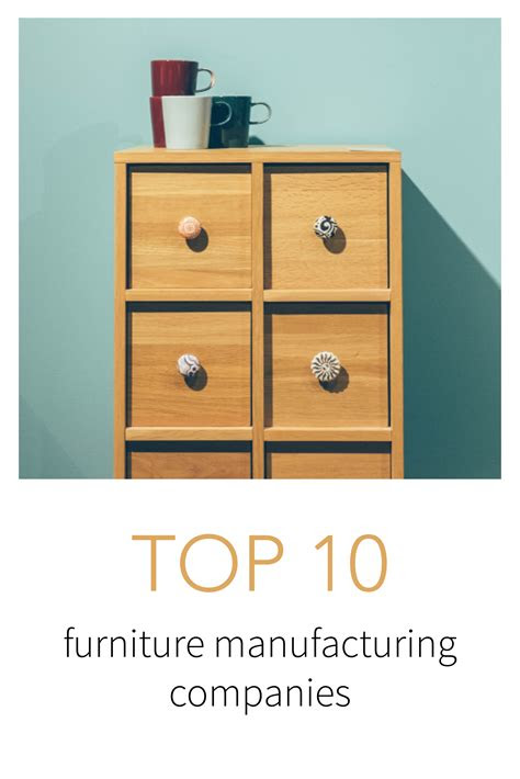 top furniture manufacturing companies list