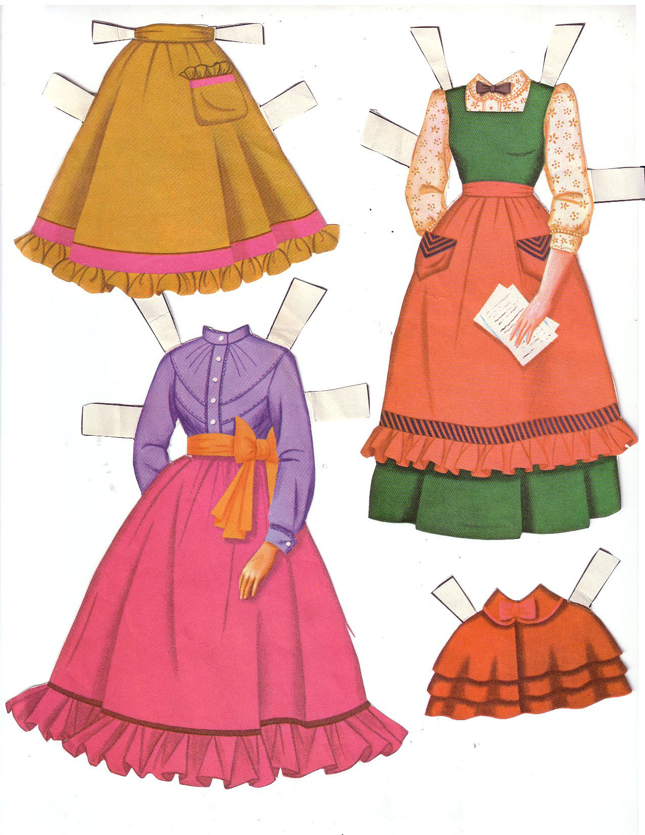 Hayley Mills - Summer Magic paper doll set (1963) 002