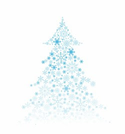 Christmas Tree Made From Snowflakes And Ribbon Vectors Stock For Free Download About 1 Vectors Stock In Ai Eps Cdr Svg Format