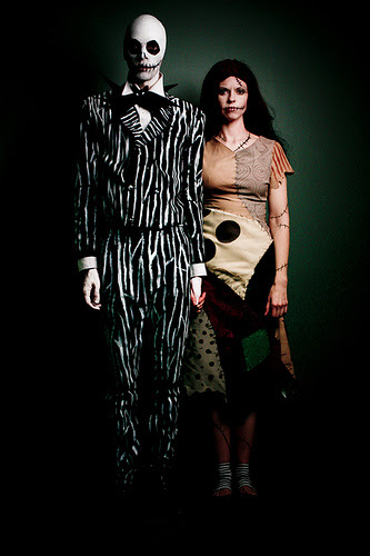 Nightmare Before Christmas Jack & Sally Spiderwebs Dress