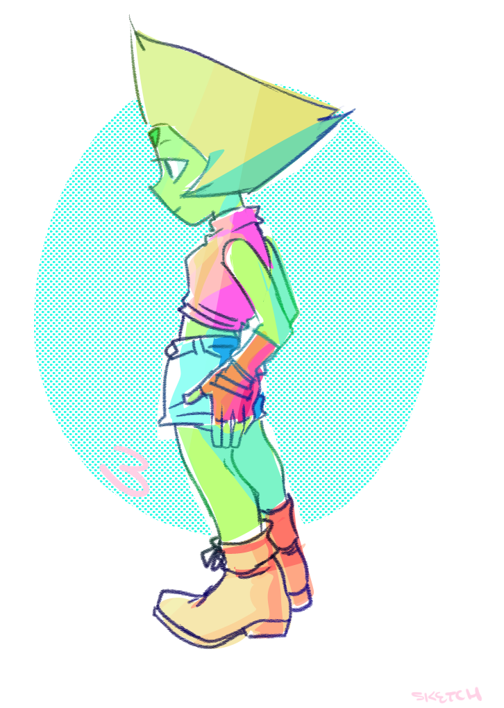 month of Peridot - day 3 fresh!