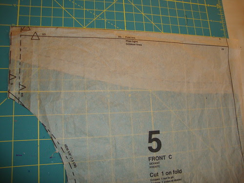 McCall's 6078 : changing cowl depth
