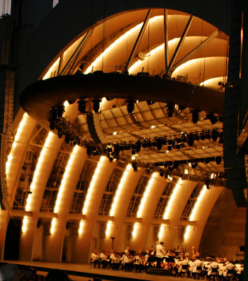 The L.A. Philharmonic at the Hollywood Bowl on 17 July 2008