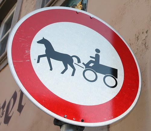 Forbud mot hest og vogn