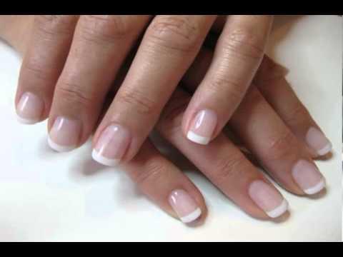 acrylic nails vs gel nails vs silk nails - YouTube