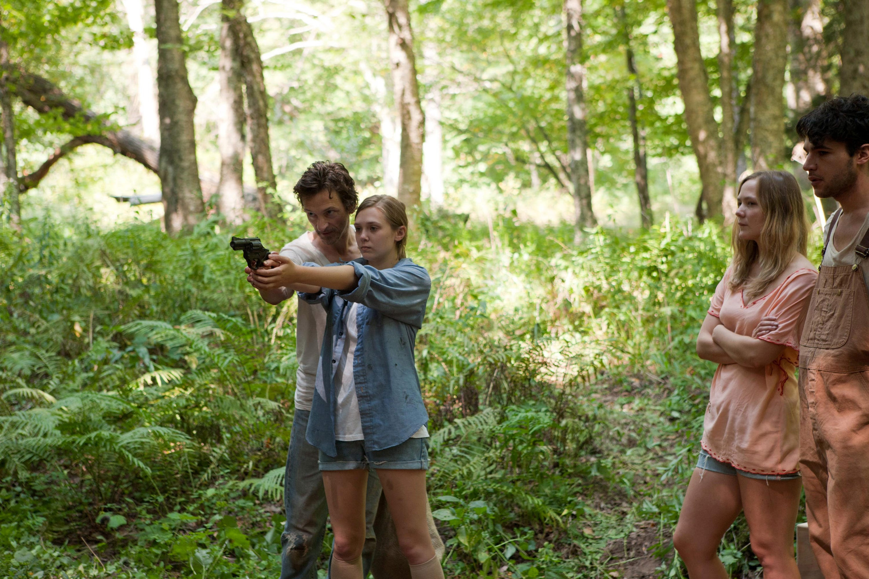 John Hawkes & Elizabeth Olsen in Martha Marcy May Marlene (2011).