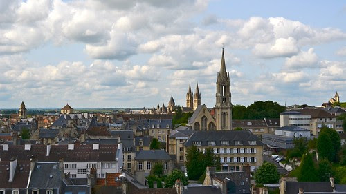 A view from the Chateau Ducal, Caen